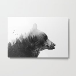 Big Bear Metal Print