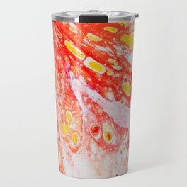 Orange Candy Coating Travel Mug