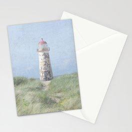 Talacre lighthouse dunes Stationery Cards