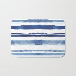 Watercolor Stripe Bath Mat
