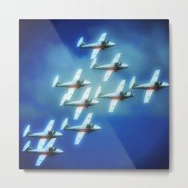formationflight Metal Print