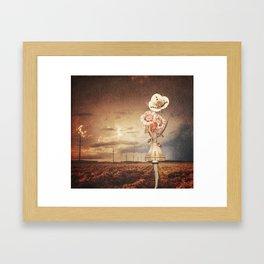 So Mysterious Framed Art Print