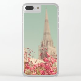 Summer of Yesteryear Clear iPhone Case