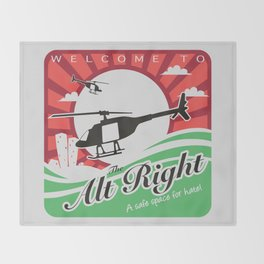 Welcome to the Alt Right Throw Blanket