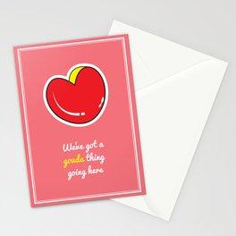 Cheesy Hearts - Gouda Stationery Cards