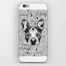 French dog iPhone & iPod Skin