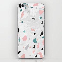 Shining, Spring Rose, Terrazzo. iPhone Skin