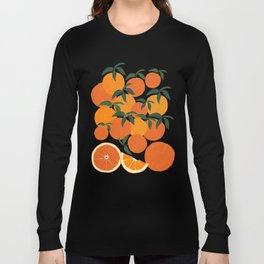 Orange Harvest - White Long Sleeve T-shirt
