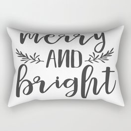 Merry and Bright Rectangular Pillow