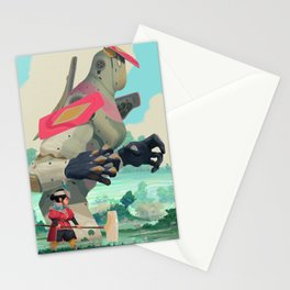 Pelle and Shovel Stationery Cards