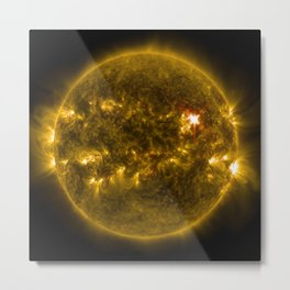 solar power Metal Print