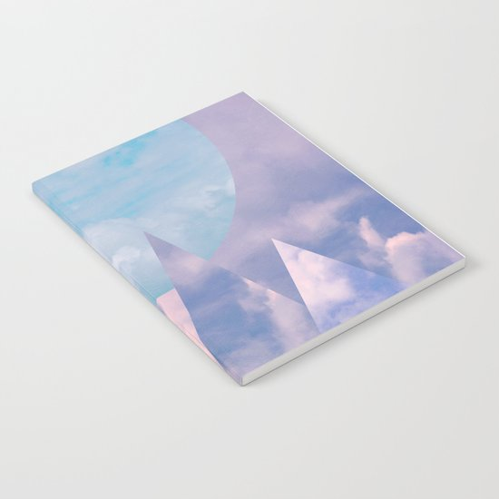 Clouds and Mountains Notebook
