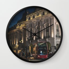 Busy Streets Wall Clock