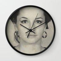 mom Wall Clocks featuring MOM by Lamiapetitedollrosa
