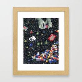 You're never too old Framed Art Print