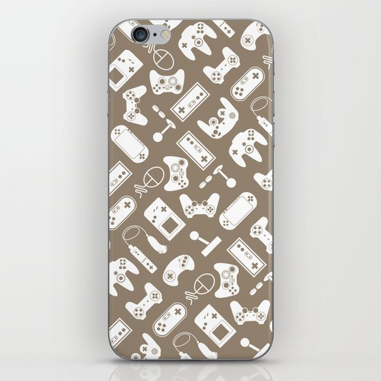 Control Your Game - Vintage Khaki iPhone & iPod Skin