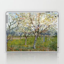 Vincent Van Gogh - The Pink Orchard Laptop & iPad Skin