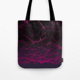 Virtual Sunset Tote Bag