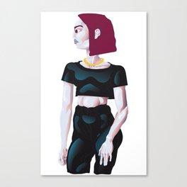 Red Head Gurl Canvas Print