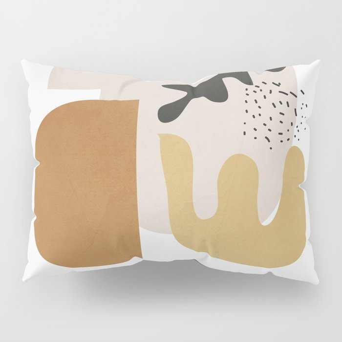 Abstract Shapes  2 Pillow Sham