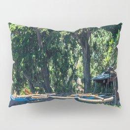 Blue Filipino Kayak Pillow Sham
