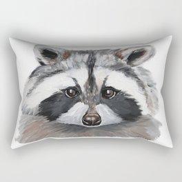 Rhubarb the Raccoon Rectangular Pillow