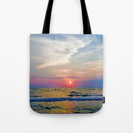 Naples Florida sunset on the Gulf of Mexico Tote Bag