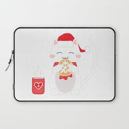 Happy Cat Laptop Sleeve