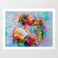 Travie McCoy Art Print