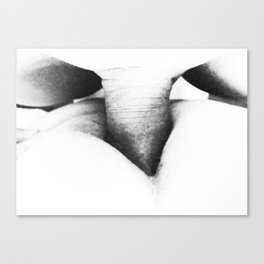 Hurrican: Fuck in Contrast Canvas Print