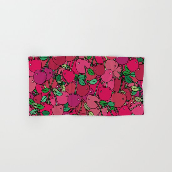 Cherry Mix Hand & Bath Towel