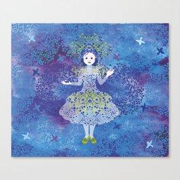 Bilberry queen Canvas Print