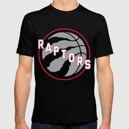 Raptors custom black logo T-shirt