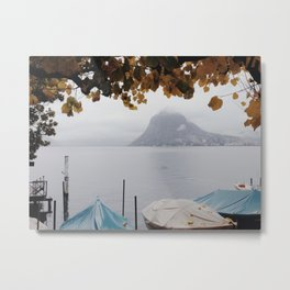 November in Lugano Metal Print