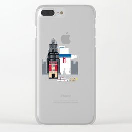 Who You Going To Call? Clear iPhone Case