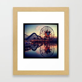 California Adventures Framed Art Print