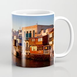 Mykonos Glow Sunset Coffee Mug