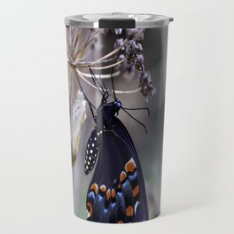 Butterfly emerging from cocoon Travel Mug