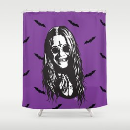 OZZY: Purple Sabbath Shower Curtain