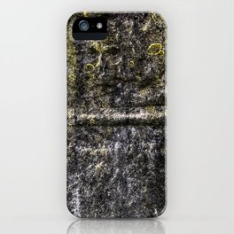 Ancient Grave Skull iPhone Case