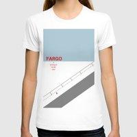fargo T-shirts featuring Fargo minimalist poster by cinemaminimalist