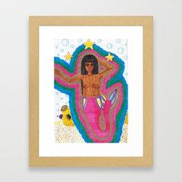 Me as a Baiana Framed Art Print