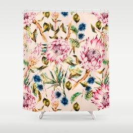 Pattern boho floral Shower Curtain