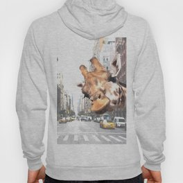 Selfie Giraffe in New York Hoody
