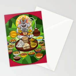Hanuman's Meal Stationery Cards