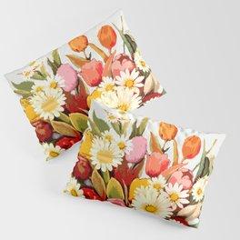 Tulip Bouquet Pillow Sham