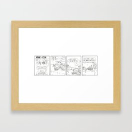 Kane and Ein 2 Framed Art Print