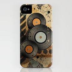 Retro Vinyl. Slim Case iPhone (4, 4s)
