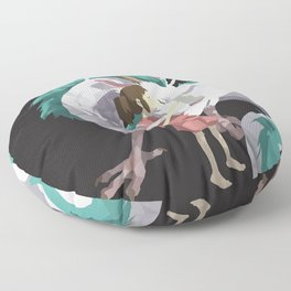 Spirited Away Floor Pillow