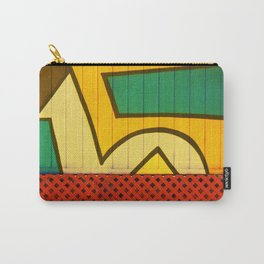 Jamaican Wall Carry-All Pouch